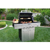 KitchenAid Stainless Steel 4-Burner (48,000-BTU) Natural Gas or Liquid Propane Gas Grill with Side Burner