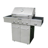 KitchenAid 4-Burner (48000 BTU) Liquid Propane and Natural Gas Grill