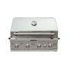 KitchenAid 4-Burner Built-In Gas Grill Liquid Propane Natural Gas or Convertible to NG