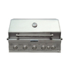 KitchenAid 5-Burner Built-In Gas Grill Liquid Propane Natural Gas or Convertible to NG