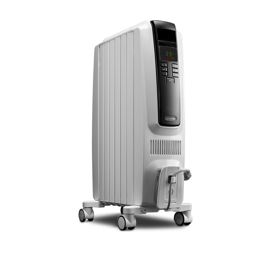 De'Longhi 5,120-BTU Oil-Filled Radiant Tower Electric Space Heater