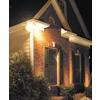 Utilitech 8.25-in 2-Head Halogen Bronze Switch-Controlled Flood Light