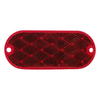 PETERSON 2-Pack Oval Red Reflectors