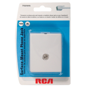 shop rca rj14 telephone cable at lowes