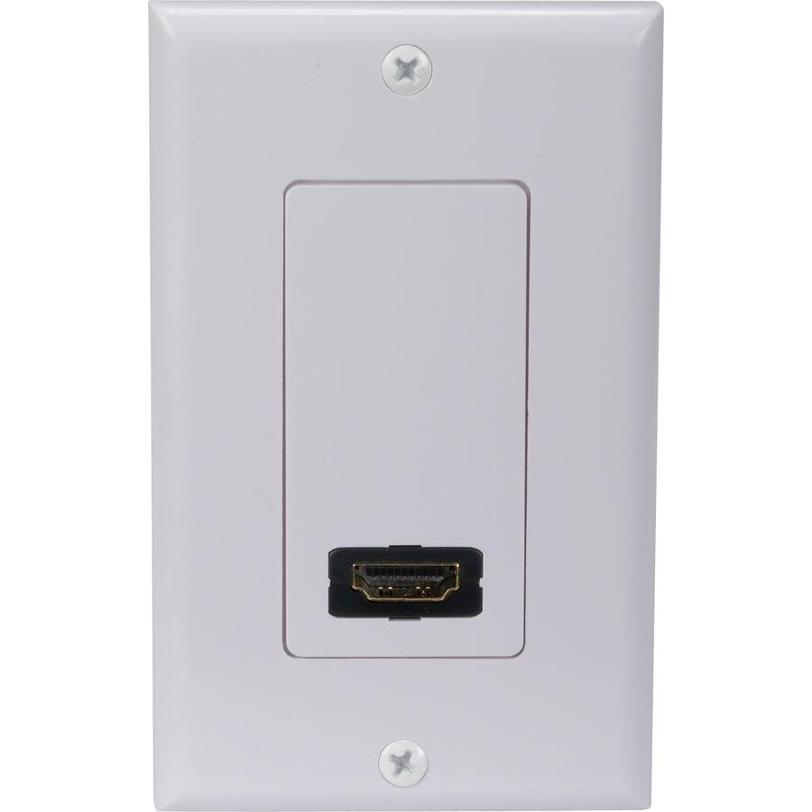 shop rca rca hdmi wall plate sgl at