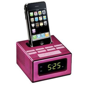 RCA Pink Docking Station for iPhone and iPod