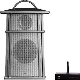 Acoustic Research 5-Watt Silver/Pewter Square Wireless Speaker