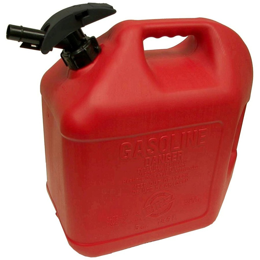 Shop Blitz 5 Gallon Plastic Gasoline Can At Lowes Com