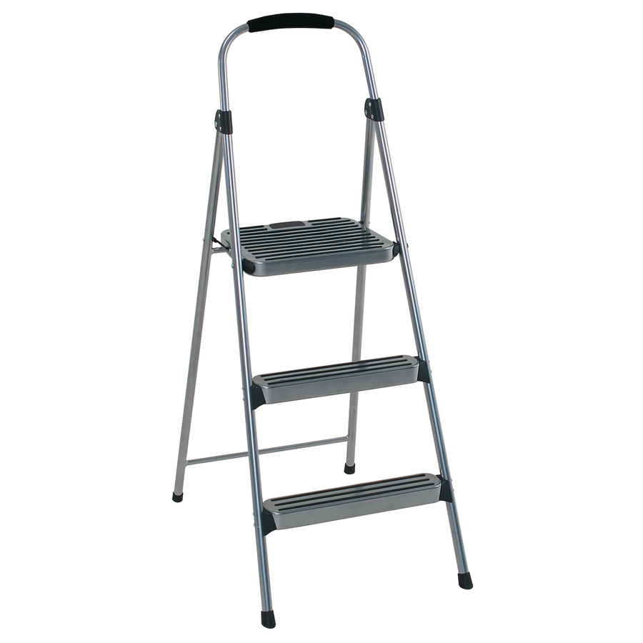 Shop Cosco 3 Step Steel Step Stool At Lowes Com