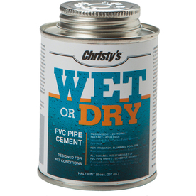 Christy's 8-fl oz PVC Cement