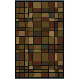 Shaw Living 5-ft x 8-ft Scrabble Area Rug