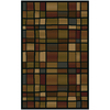 Shaw Living Scrabble Rectangular Multicolor Accent Rug