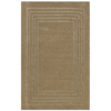 Shaw Living 7-ft 6-in x 10-ft Almond Perimeters Area Rug