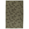 Shaw Living 5-in x 8-in Green Bricks Area Rug