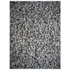 Shaw Living Shaggedy Shag Rectangular Cream Solid Area Rug (Common: 5-ft x 8-ft; Actual: 5-ft x 7-ft)