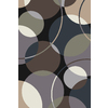 allen + roth Ridley Park 5-ft x 7-ft 6-in Rectangular Multicolor Geometric Area Rug