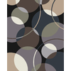 allen + roth Ridley Park 8-ft x 10-ft Rectangular Multicolor Geometric Area Rug