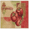Style Selections Tomato 45-in x 26-in Rectangular Red Transitional Accent Rug