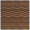 Style Selections Capri 45-in x 26-in Rectangular Brown Transitional Accent Rug