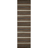 Style Selections Nance Carpet 2-ft 3-in W x 7-ft 6-in L Brown Runner