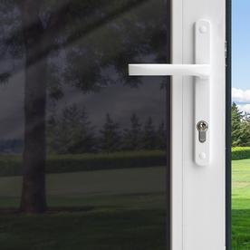 GILA 36-in W x 78-in L Black Privacy-Control Static Cling Window Film