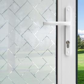 Shop Gila 36 In W X 78 In L Versailles Frosted Privacy