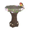 Bird and Nest Birdbath