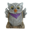 Garden Treasures 6.38-in H Owl Garden Statue