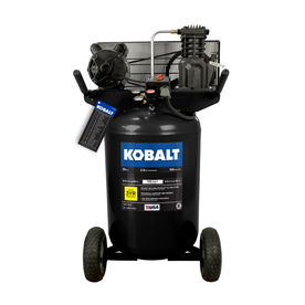 Kobalt 2-HP 30-Gallon 155-PSI 120-Volt Vertical Portable Electric Air Compressor