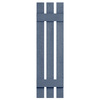 Severe Weather 2-Pack Blue Board and Batten Vinyl Exterior Shutters (Common: 12-in x 43-in; Actual: 12.38-in x 43-in)