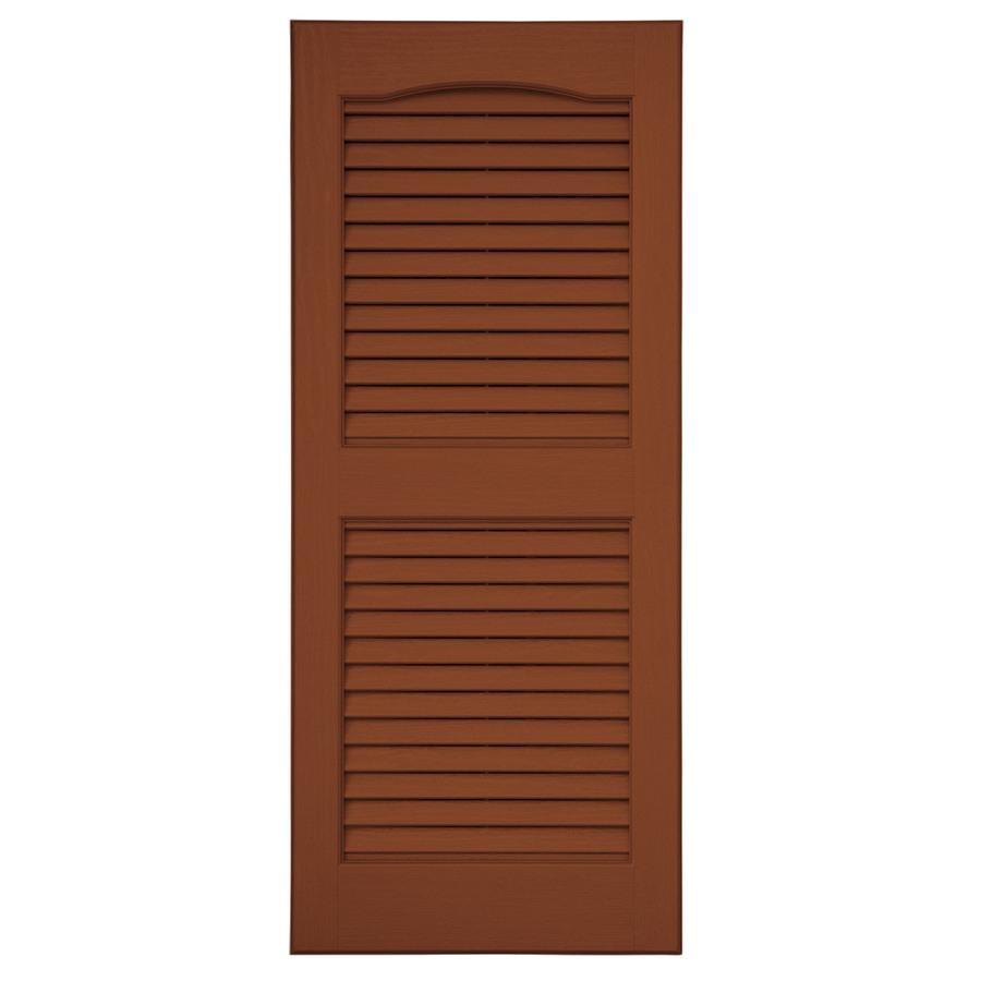 Vinyl Louvered Doors 118