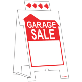 The Hillman Group 19-in x 11-13/16-in Garage Sale Sign