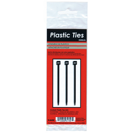 The Hillman Group 25-Pack 5.5-in Nylon Cable Ties