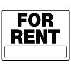The Hillman Group 20-in x 24-in for Rent Sign