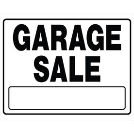 The Hillman Group 24-in x 20-in Garage Sale Sign