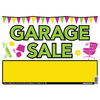 Hillman Sign Center 10-in x 14-in Garage Sale Sign
