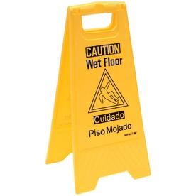 The Hillman Group 29-in x 13.5-in Wet Floor Sign Sign