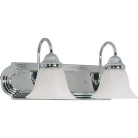2-Light Ballerina Polished Chrome Bathroom Vanity Light