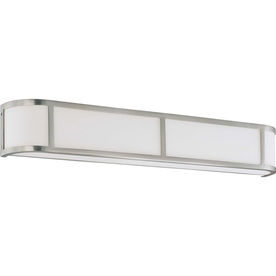 32-in W Odeon 1-Light Brushed Nickel Pocket Wall Sconce