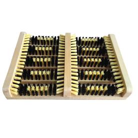 Natural Rectangular Boot Scraper Mat (Common: 10-in x 14-in; Actual: 10.8-in x 14-in)