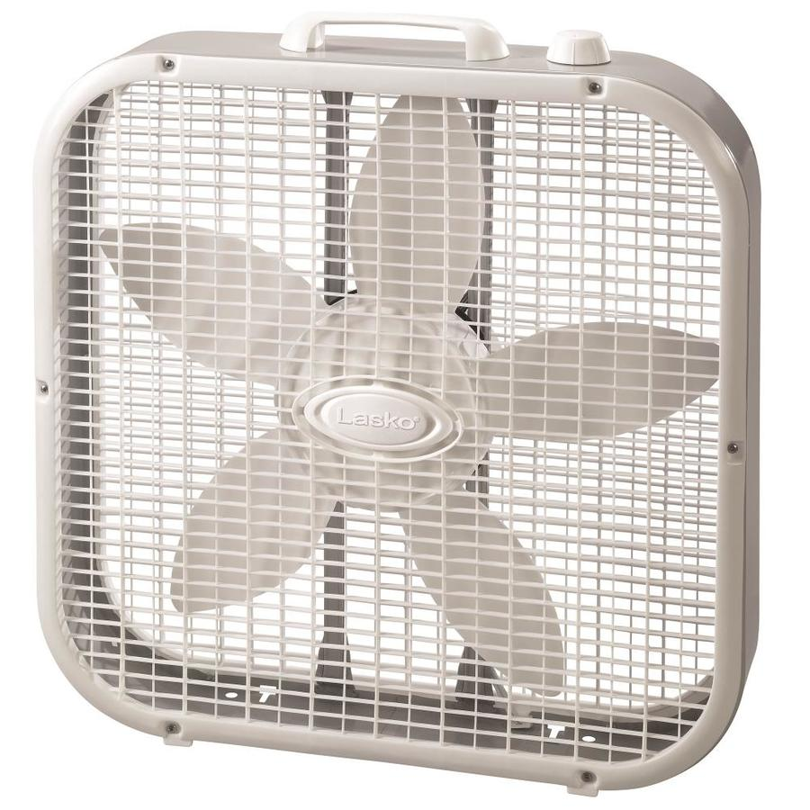 Shop lasko 20 in 3 speed box fan fan at for Lasko fans