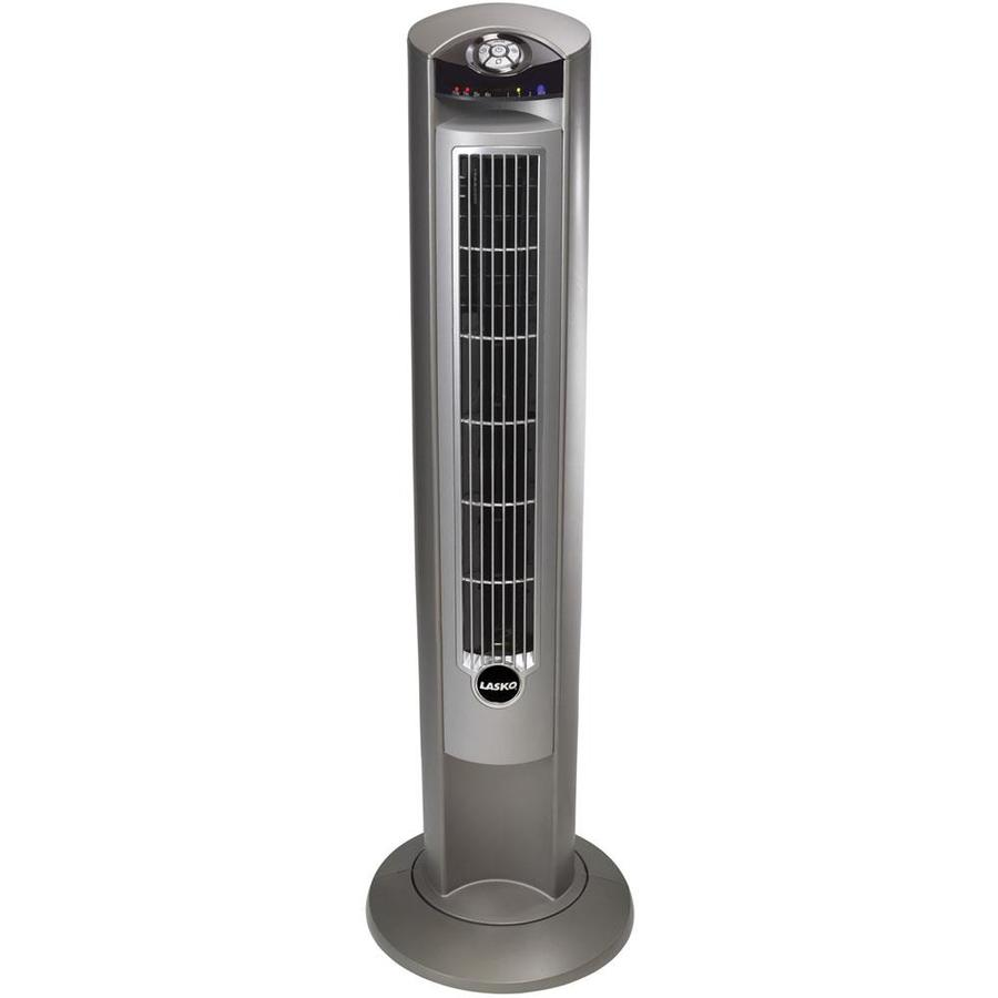 Shop Lasko 42-in 3-Speed Oscillating Tower Fan at Lowes.com