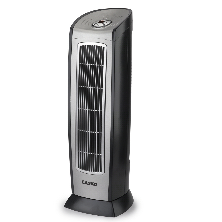 Shop Lasko Ceramic Tower Electric Space Heater with