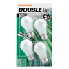 SYLVANIA 4-Pack 60-Watt A15 Medium Base (E-26) Soft White Dimmable Incandescent Ceiling Fan Light Bulbs