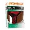 SYLVANIA 250-Watt BR40 Medium Base (E-26) Red Dimmable Incandescent Heat Lamp Light Bulb
