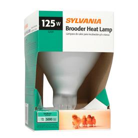 SYLVANIA 125-Watt BR40 Medium Base (E-26) Soft White Dimmable Incandescent Heat Lamp Light Bulb