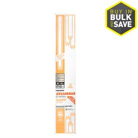 SYLVANIA 10-Pack 40-Watt 5,000K Full Spectrum Fluorescent Tube Light Bulbs (Common: 48-in; Actual: 47.78-in)