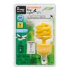 SYLVANIA 13-Watt (60W Equivalent) 2,600K Spiral Candelabra Base (E-12) Yellow CFL Bulb