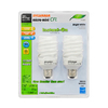 SYLVANIA 2-Pack 23-Watt (100W) Spiral Medium Base Bright White (3500K) CFL Bulbs ENERGY STAR