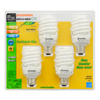 SYLVANIA 4-Pack 23-Watt (100W) Spiral Medium Base Soft White (2700K) CFL Bulbs